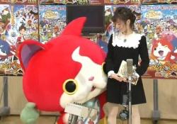 島崎遥香と嗣永桃子がジバニャンに股間を弄られていると話題!