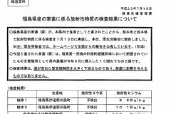 熊本産豚肉からセシウム検出!→調べたら福島産豚肉を偽装してました
