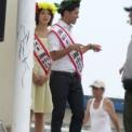 2013年湘南江の島 海の女王&海の王子コンテスト その34(海の女王&海の王子2012による発表準備)