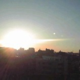 『戸田市からみた初日の出』の画像