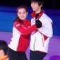 羽生選手はソトニコワ選手と ともにエキシビションの練習 ht...