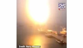 【決定的瞬間】落雷がボートを直撃した瞬間の動画がこちら