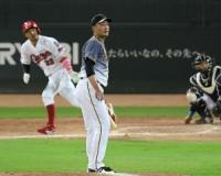 阪神・秋山、92球粘投も伏兵・菊池涼に被弾 悔しい6回3失点で白星ならず