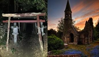 【東洋vs西洋】日本と海外の「恐怖」の違いを神社とか教会から考えてみた
