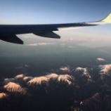 『飛行機からの眺め』の画像