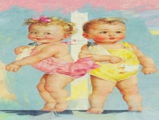 預かった義姉の双子ちゃんが どっちがどっちかわからなくなった。「次女に薬飲ませて」って頼まれてたのに... 私「とりあえずオムツ替えるか」→ 衝撃の問題解決wwwww
