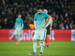 PSG戦で完全に沈黙のバルセロナ・メッシ、両チーム最低の採点「2」