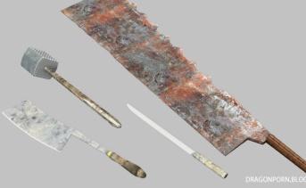肉屋の武器セット