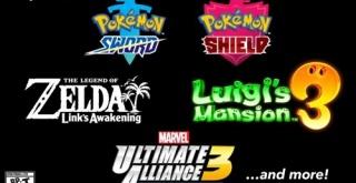 任天堂、E3の出展タイトルを公開!『ポケモン剣盾』『ルイージマンション3』『ゼルダの伝説 夢島』をプレイアブル出展へ