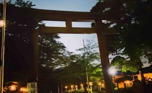 名古屋城にホタルが大発生!