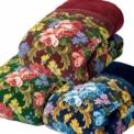【暖かさの秘密は5層構造】毛布3枚+中わた2層、ボ…
