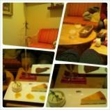 『個室風のソファ席でゆっくりケーキタイム~【ヒロコーヒー】大丸梅田店』の画像