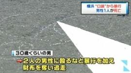 口論を撮影の男、注意され逆上…1人を殴り殺し、もう1人から財布を奪って逃走…神奈川