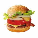 例えばこの画像のハンバーガーが