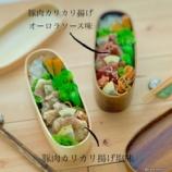 『冷めても固くならない豚肉カリカリ揚げのお弁当』の画像
