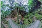 幻想的!交野の滝、360°パノラマ画像~交野さんぽ56~