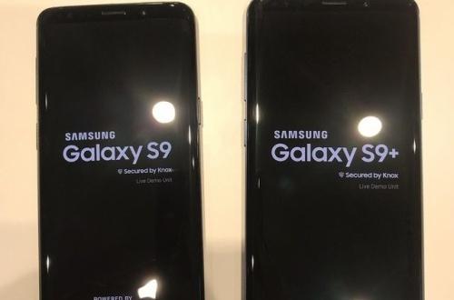 【画像あり】Galaxy S9・S9+の実機カッコよすぎいぃぃぃぃぃぃぃぃぃ!!のサムネイル画像