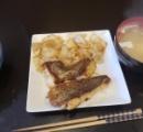 『男の料理』真鯛と黒鯛のバター焼き作った