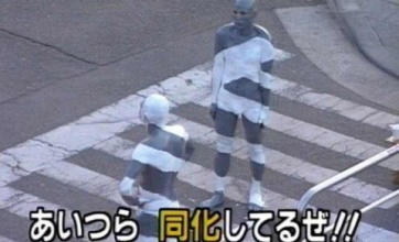 【衝撃】光学迷彩に見えるゴミ箱wwwwwwwwww