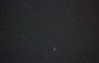 『ステファンの五つ子銀河は何処?』の画像