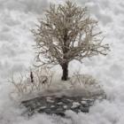 『FUJIIさんのジオラマ⑤「冬の散歩」』の画像