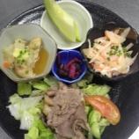 『今日の太田昼食(冷しゃぶ)』の画像