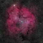 『ASTRO D850によるケフェウス座のIC1396散光星雲』の画像