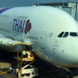 『A380 Thai Airways Business class の旅 チェックイン』の画像