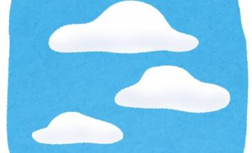 栃木や福島で異様な雲が出現