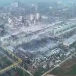 【動画】中国、先日の河南省でのガス工場大爆発 、当局が死傷者数など情報を封鎖 [海外]