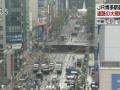 【福岡】博多駅前道路陥没 建物の基礎部分がむき出しに 危険な状態(画像・動画あり)