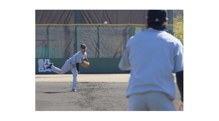 巨人ドラ1・吉川尚輝、3軍で初練習!「走攻守、全てにおいてしっかりやっていきます」