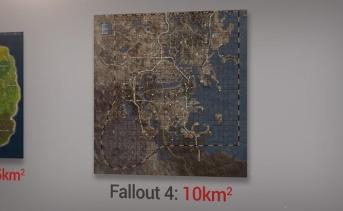 人気ゲームのマップサイズの比較