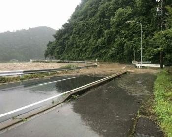 【大雨特別警報】避難勧告が出た岐阜・郡上市が大雨でとんでもない状況・・・(画像あり)