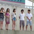 2012湘南江の島 海の女王&海の王子コンテスト その25(海の女王2012挨拶&記念撮影)
