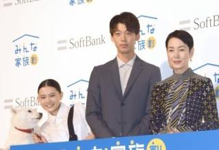 【CM】ソフトバンク「白戸家」初期メンバー卒業なし…竹内涼真、新CMで上戸彩の息子役に