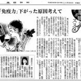 『「免疫力」下がった原因考えて|産経新聞連載「薬膳のススメ」(14)』の画像