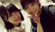 HKT48矢吹奈子が欅坂46平手友梨奈との2ショット写真公開
