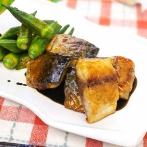 焼き肉のタレで簡単♪鯖とオクラの甘辛炒め