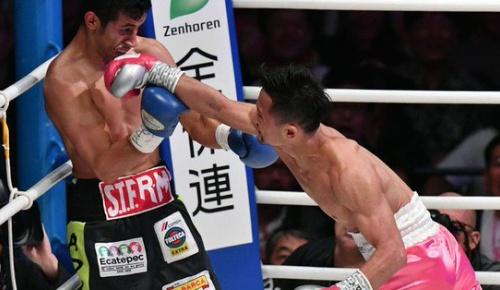 【ボクシング】比嘉大吾が元2階級王者フエンテスに初回TKOの完勝