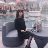 『【元乃木坂46】畠中清羅、妊娠5ヶ月を発表!大きくなったお腹を公開!!!』の画像