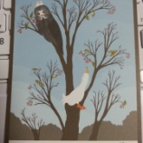 『ダ・ヴィンチ1月号に載っていたマンガ『ぢべたぐらし あひるの生活』を読む』の画像