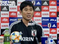 「パラグアイ戦は4バックでスタートしていきたい」by 日本代表・森保一監督