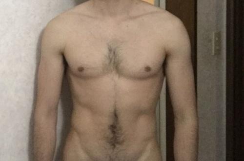 筋トレ2週間目ワイの体wwwwwwwのサムネイル画像