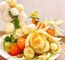 にしおかすみこ 、プロ級の手作り「花サラダ」が大反響「プロの料理人みたいで綺麗!」「食べるのもったいない」