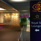 『タイ国際航空ビジネスクラスラウンジ Royal Silk Lounge バンコクスワンナプーム国際空港国内線ラウンジ。』の画像
