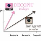 『DECOPICが1月弱で100万ダウンロード達成【湯川】』の画像