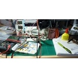 『電子部品の整理をしている。』の画像
