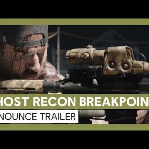 『シリーズ最新作『Ghost Recon Breakpoint』。  PS4/Xbox One/PC、2019年10月4日発売』の画像