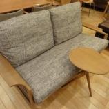 『【北欧テイスト・日進木工の家具2012】geppoシリーズのNEW ITEM サイドベンチ・NFT-795が入荷』の画像